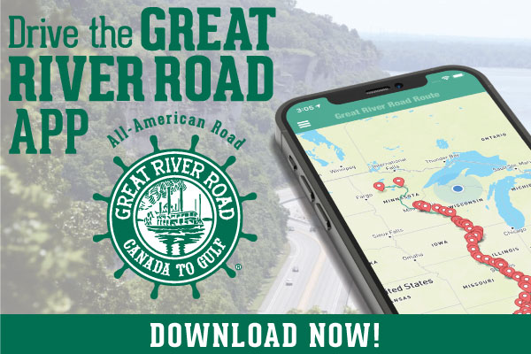 Download the Great River Road App button